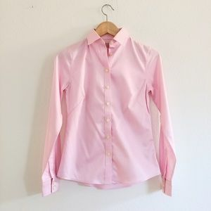 Banana Republic Pink Button Down Shirt